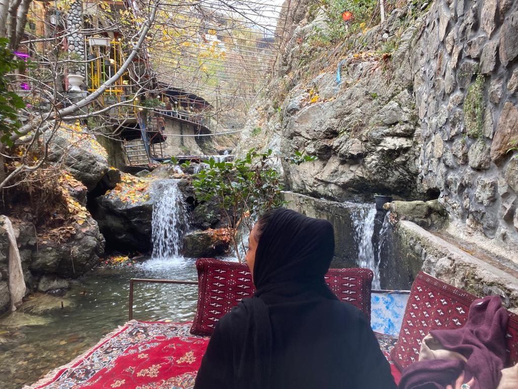 Darband, mountains of Tehran