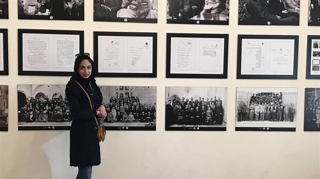 Tehran Negarestan museum garden and Rouhi restaurant