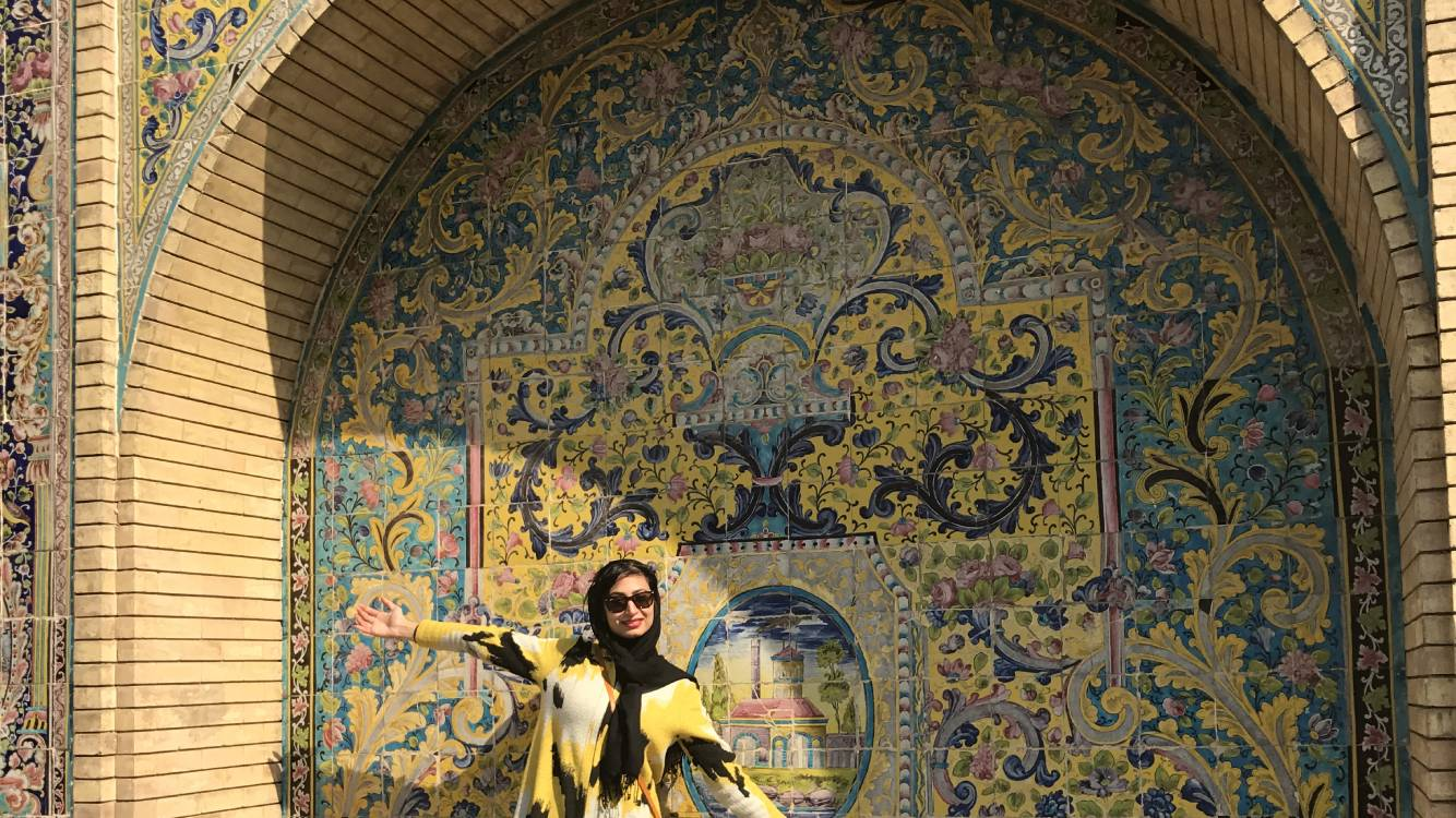 Tehran: Bazaar district and Golestan palace