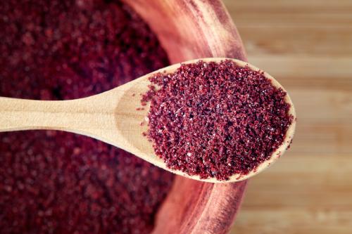 Persian spices sumac