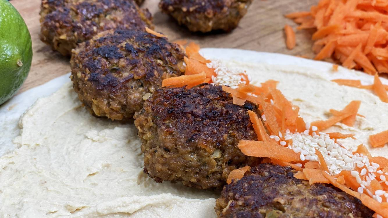 beef curry patties