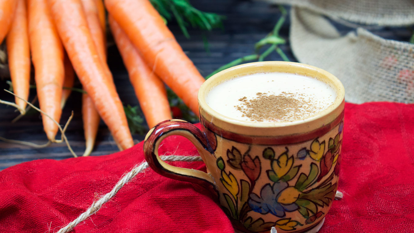 carrot spice latte