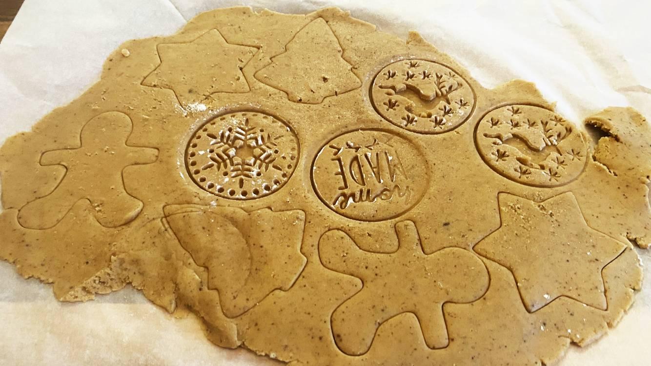 Danish biscuits Brunkager