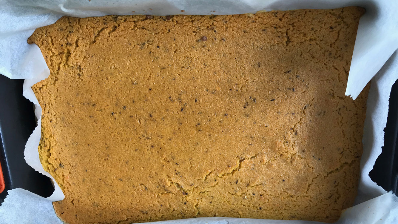 red lentil bread